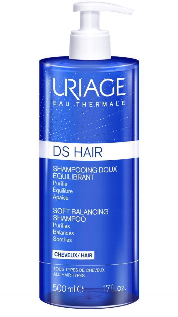 URIAGE DS Hair szampon delikatny regulujący 500ml