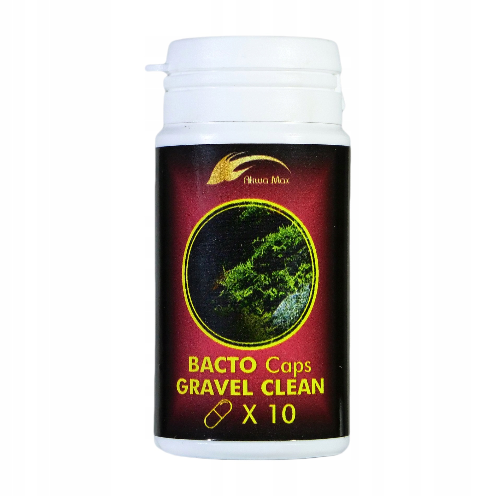 AKWA MAX BACTO Caps GRAVEL CLEAN Odmulacz биопремия