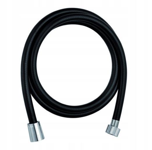 Sprchové hadice na zvukový pult, 150 cm, PVC, čierny