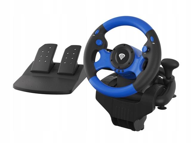 Руль для ПК PS4 XOne Vibration Gears Pedals EAN 5901969425376