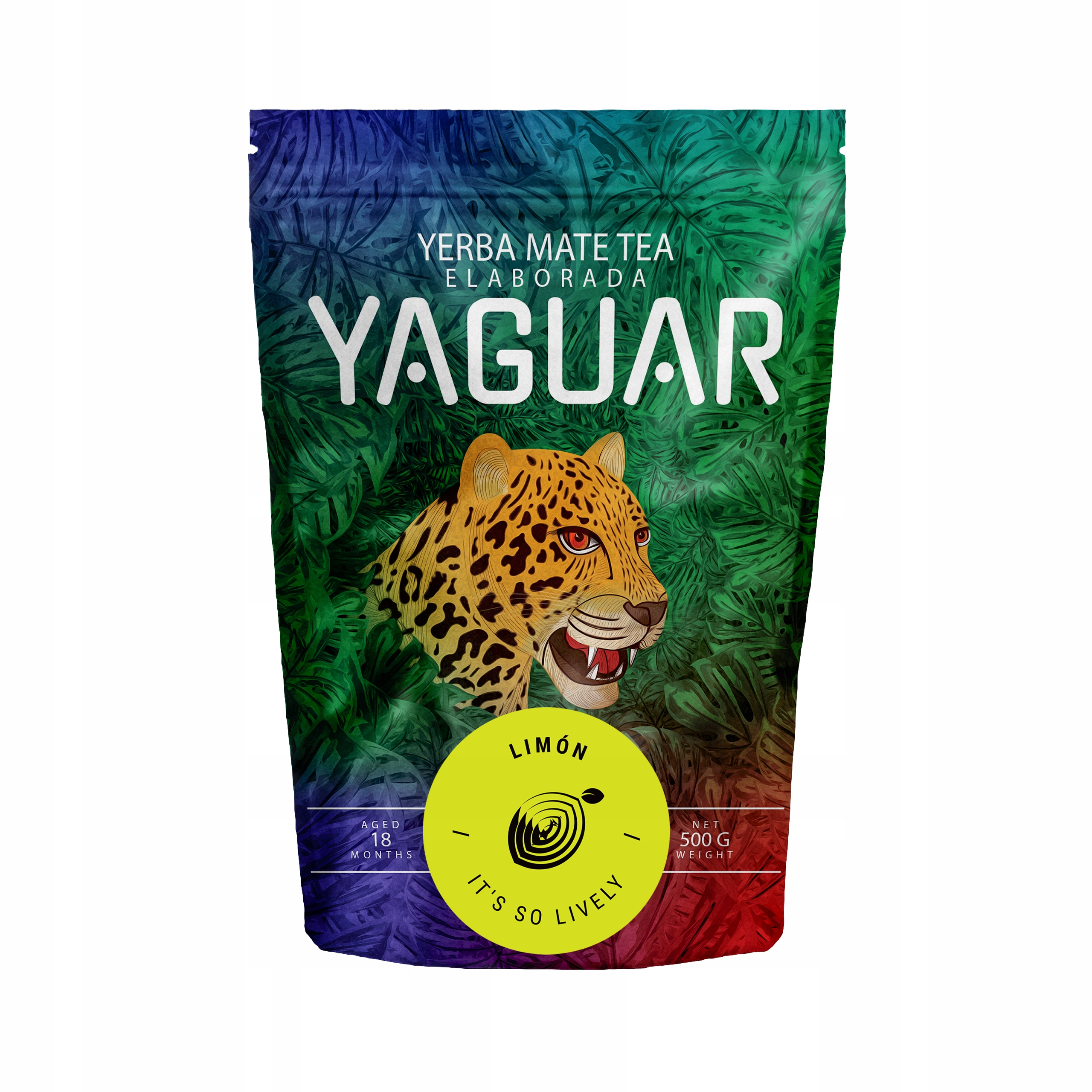 Yerba Mate Yaguar Limon Cytrynowa 0,5kg 500g