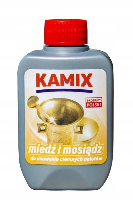 Kamix средство для чистки латуни и меди 125ml
