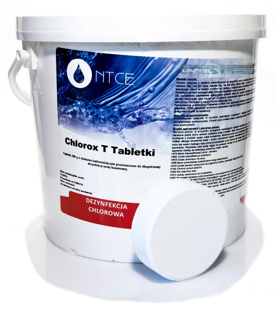 CHLOROX Т-таблетки 200г дезинфекция воды 5кг +подарок