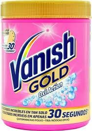 Vanish 940g пятновыводитель порошок Gold Универсал