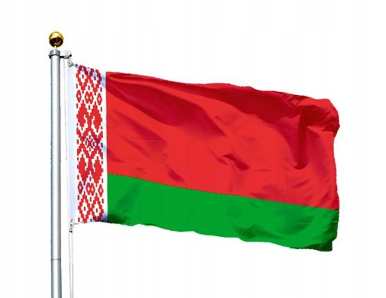 Flaga Białoruś 150x90 cm Flagi Białorusi Belarus 4997329270 ...