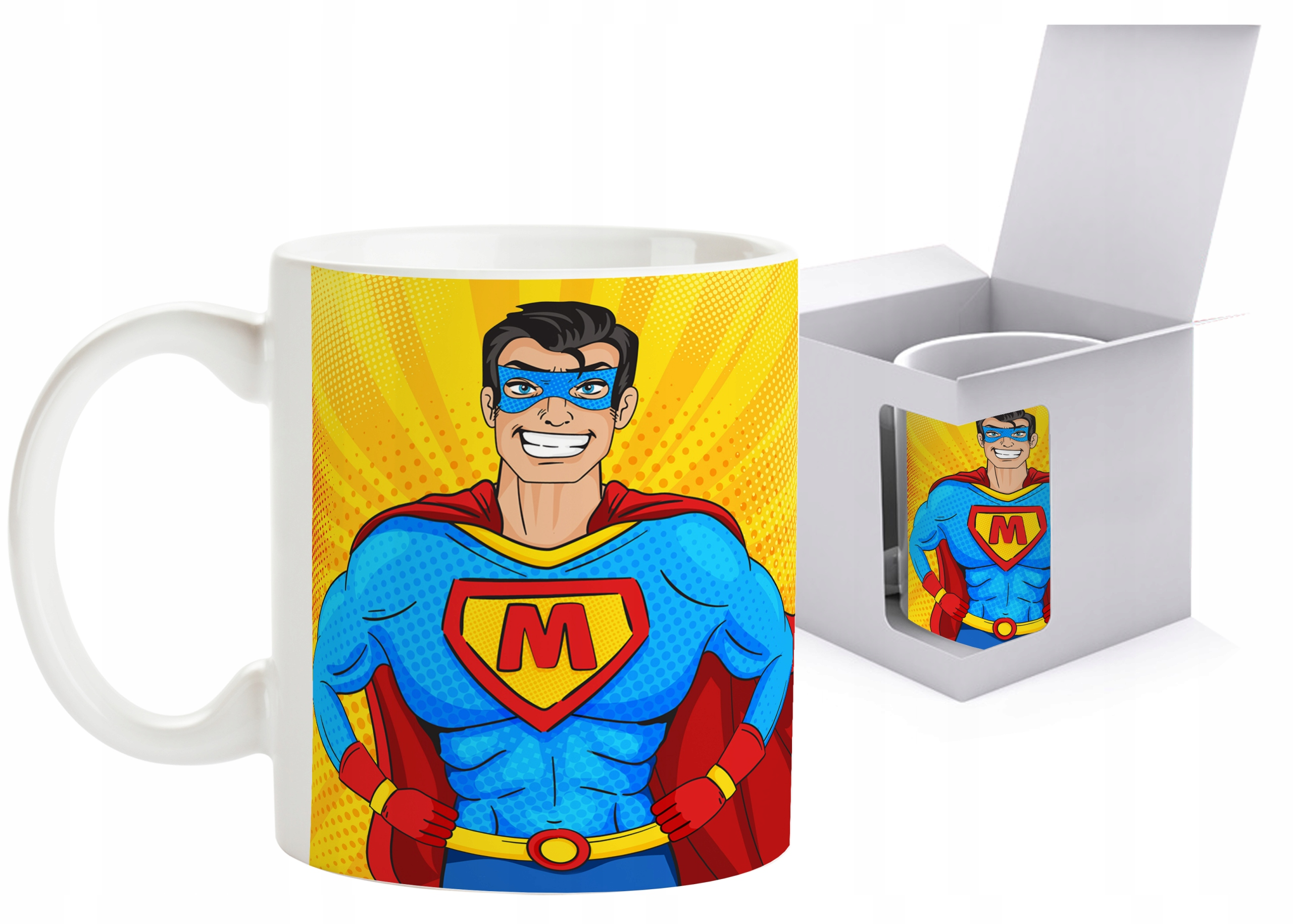 Item Photo mug with Your own print logo graphic