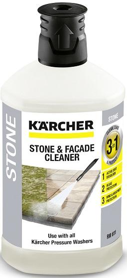 Жидкость для стирки камня 3в1 Karcher RM 611 1л