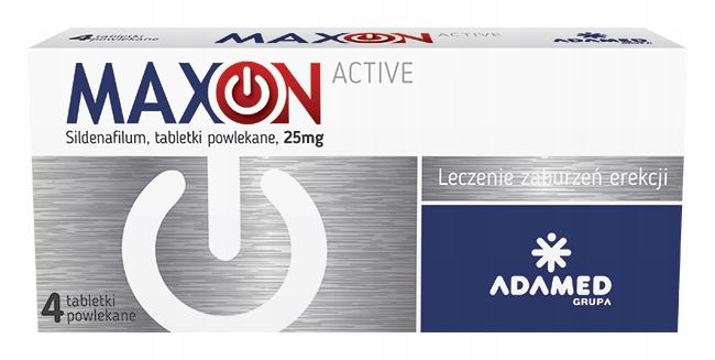 MAXON ACTIVE 4tabl syldenafil erekcja potencja