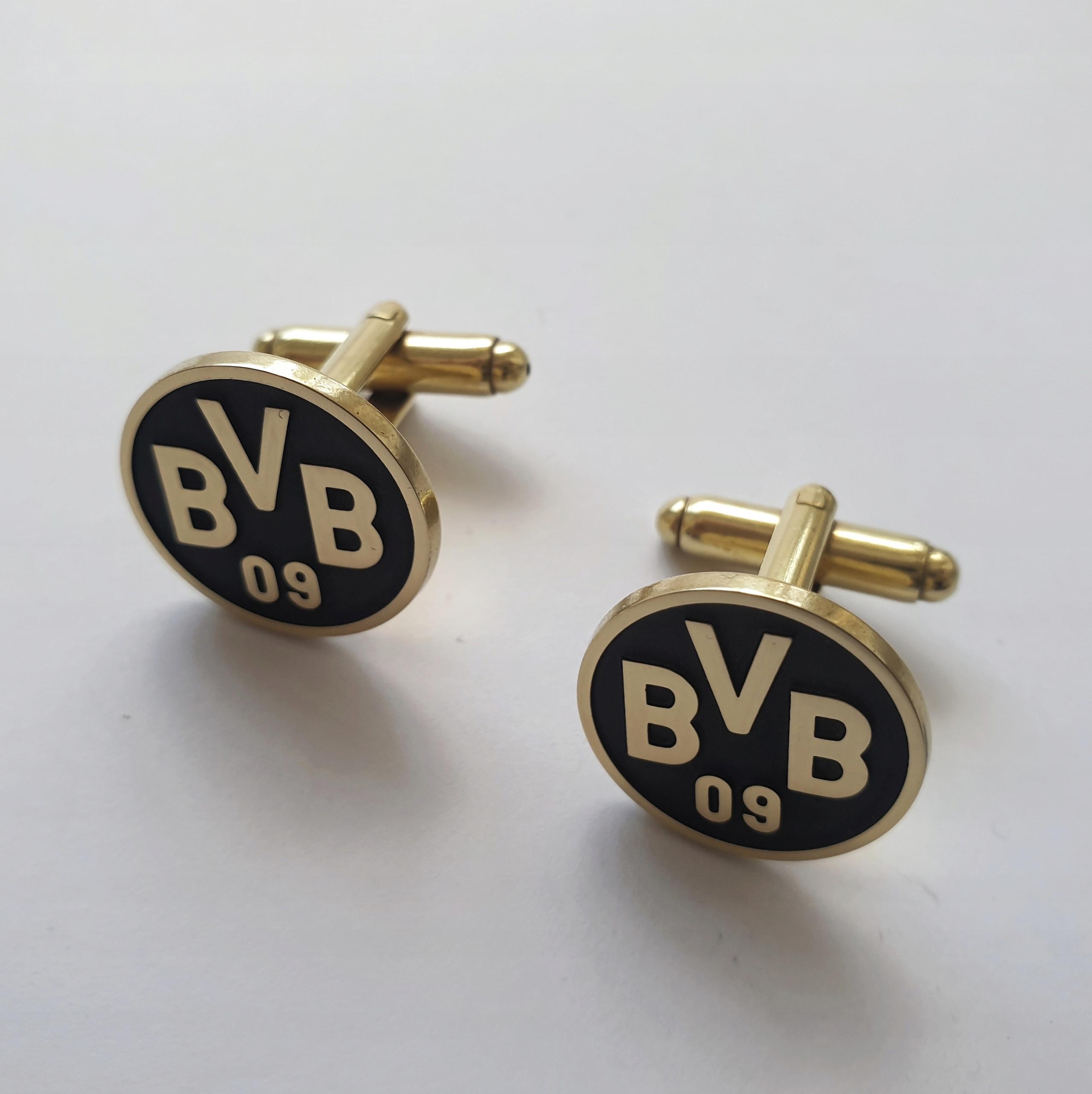 Spinki Do Koszuli Mankietow Borussia Dortmund 7941172327 Allegro Pl
