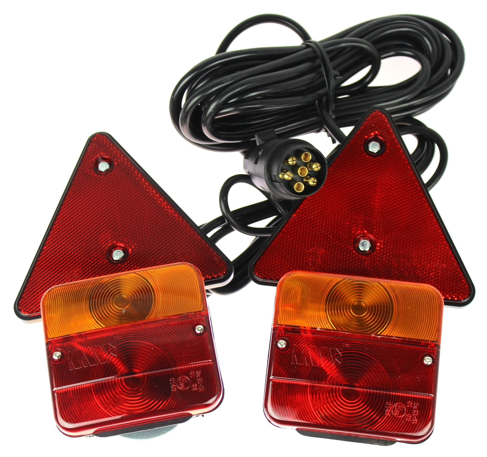 комплект Света лампы к прицеп треугольник магнит