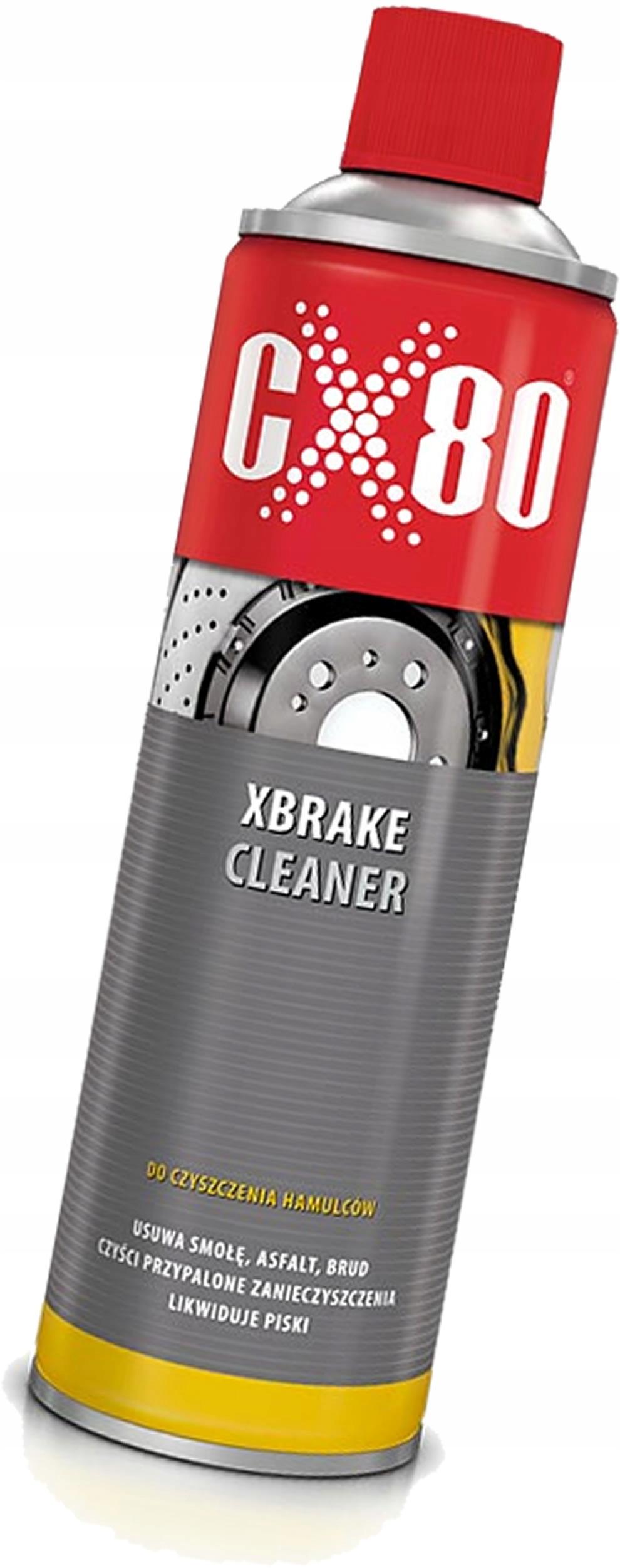 Жидкость для снятия ЛАКА, средство для очистки тормозов CX80 500 мл