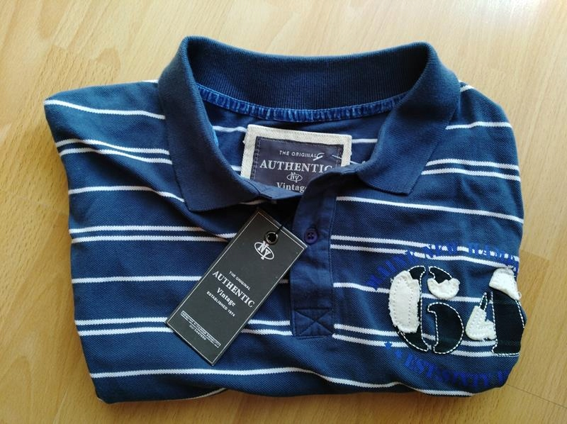 """NOVÉ Polo t-Shirt """" VINTAGE AUTENTICKÉ veľkosť S / M"""