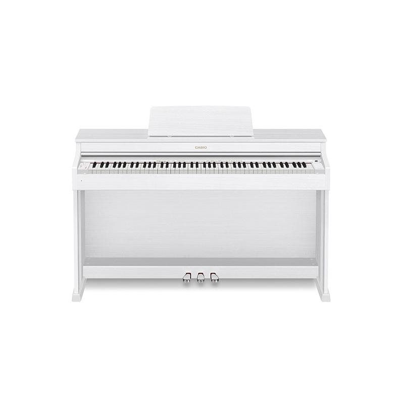 Casio AP-470 v digitálnej klavírnej bielej farbe