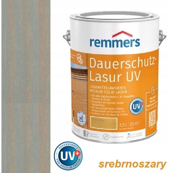 DAUERSCHUTZ LASUR UV+ 5 l STRIEBRO šedá