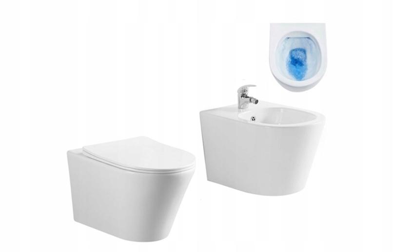 KIT MISA WC + BIDET + DUROPLAST SONET