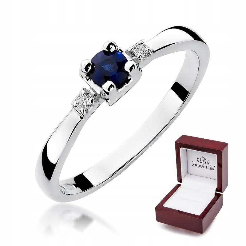 Zásnubný prsteň id-323 Sapphire Diamanty