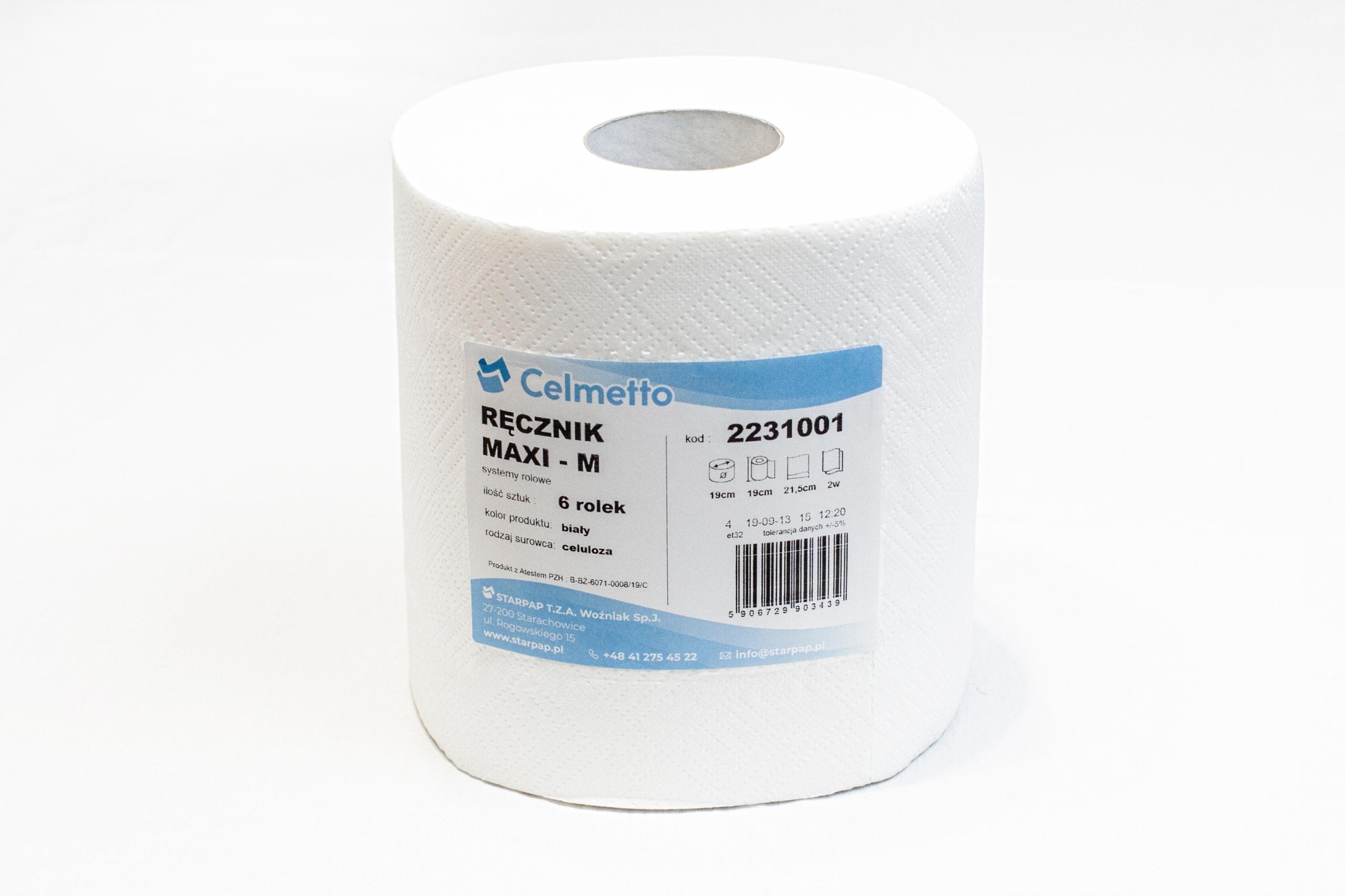 Полотенца в рулоне бумажные, целлюлоза МАКСИ 100м