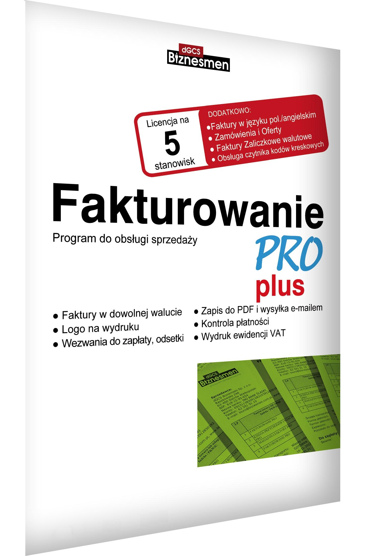Biznesmen Fakturowanie Pro Plus 5pc Faktury 7212079806 Allegropl