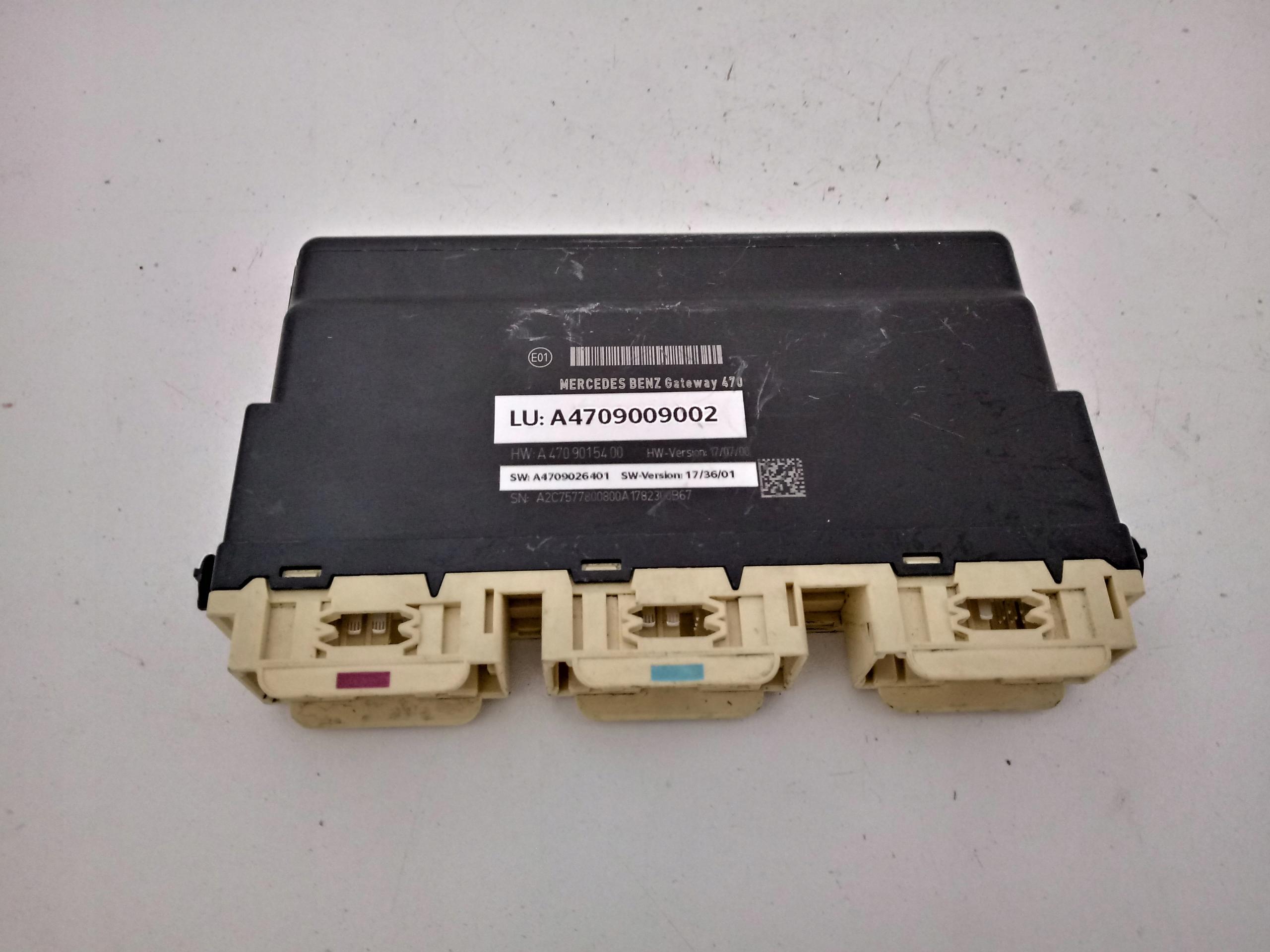 mercedes w470 x класс модуль gateway a4709009002
