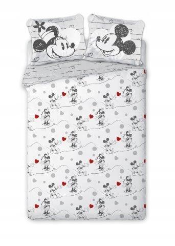 BED LINEN 140x200 Minnie Mouse Retro 2 obliečky na vankúš