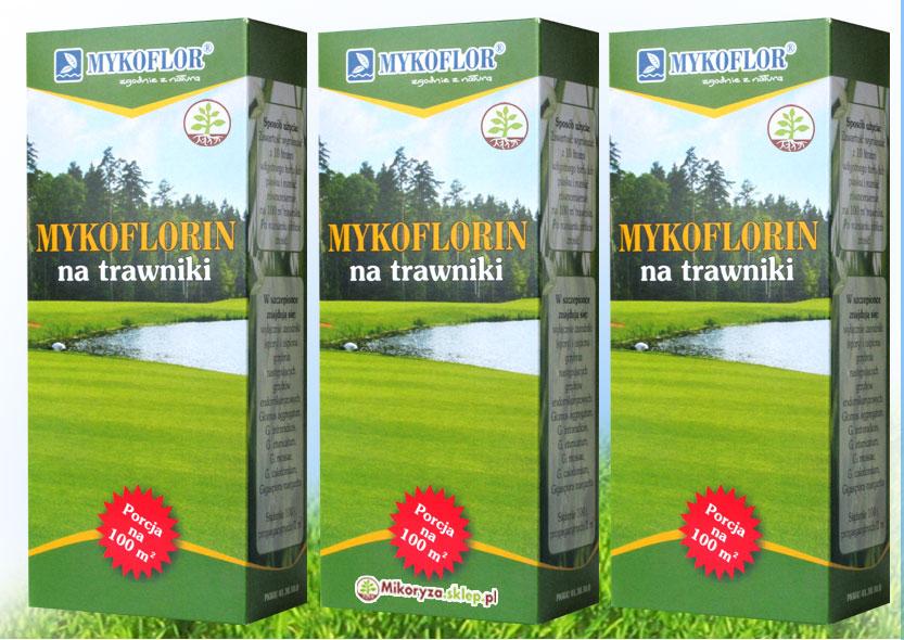 Mycorrhiza na tráve a trávnatej plochy do 300 m2