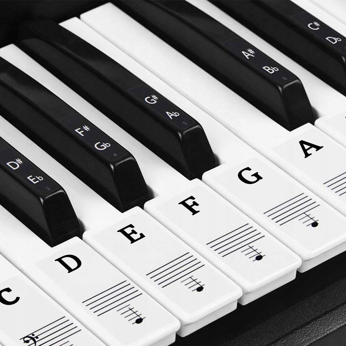 Картинки пианино клавиши с обозначением
