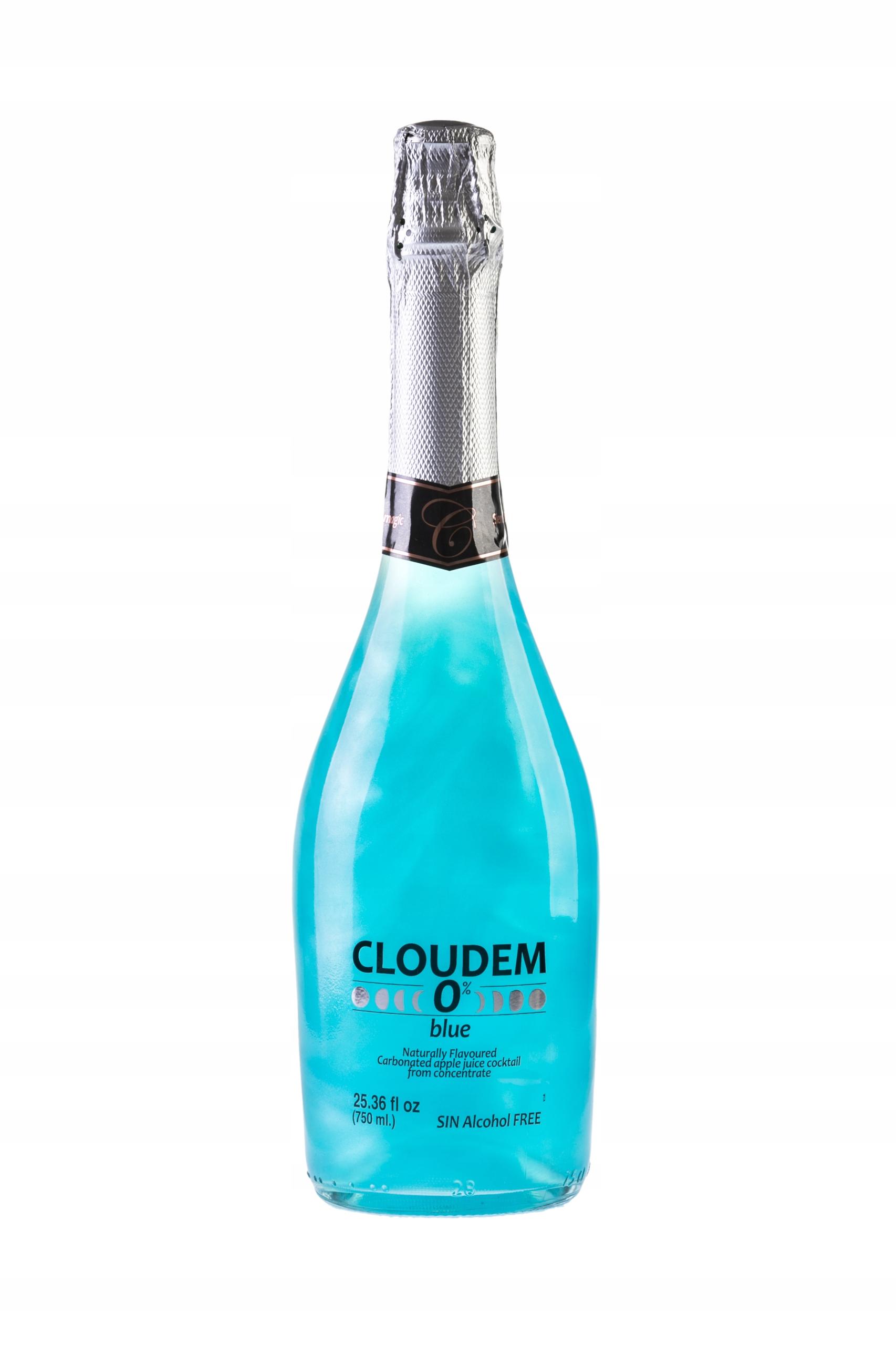 Купить Игристое вино Cloudem парча безалкогольное 0% на Otpravka - цены и фото - доставка из Польши и стран Европы в Украину.