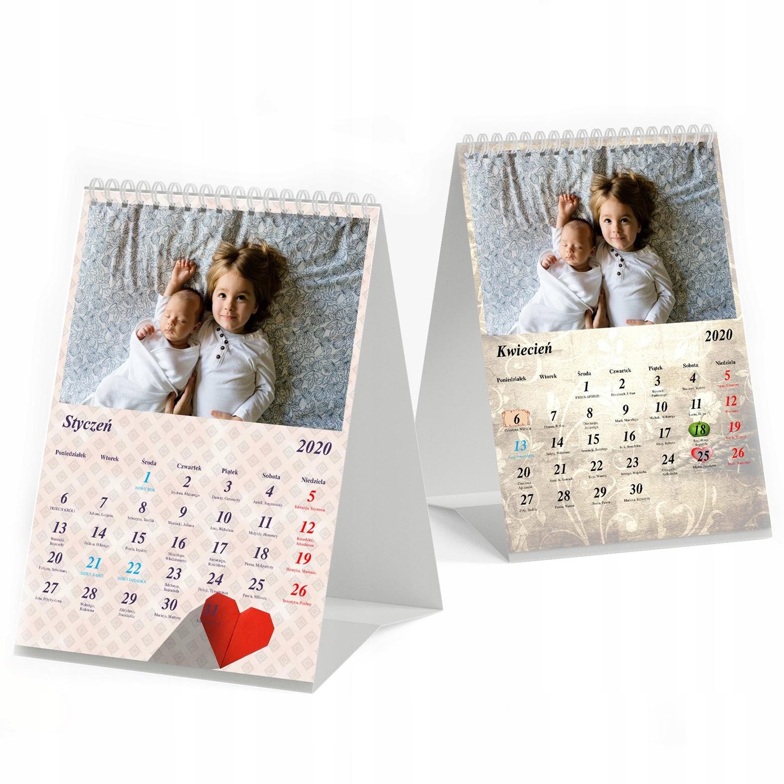 Фото-Календарь Настольный Ваши важные даты+detykacja