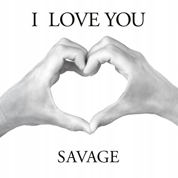 "Item Savage - I Love You 12"" MAXI WHITE AUTOGRAPH ITALO"