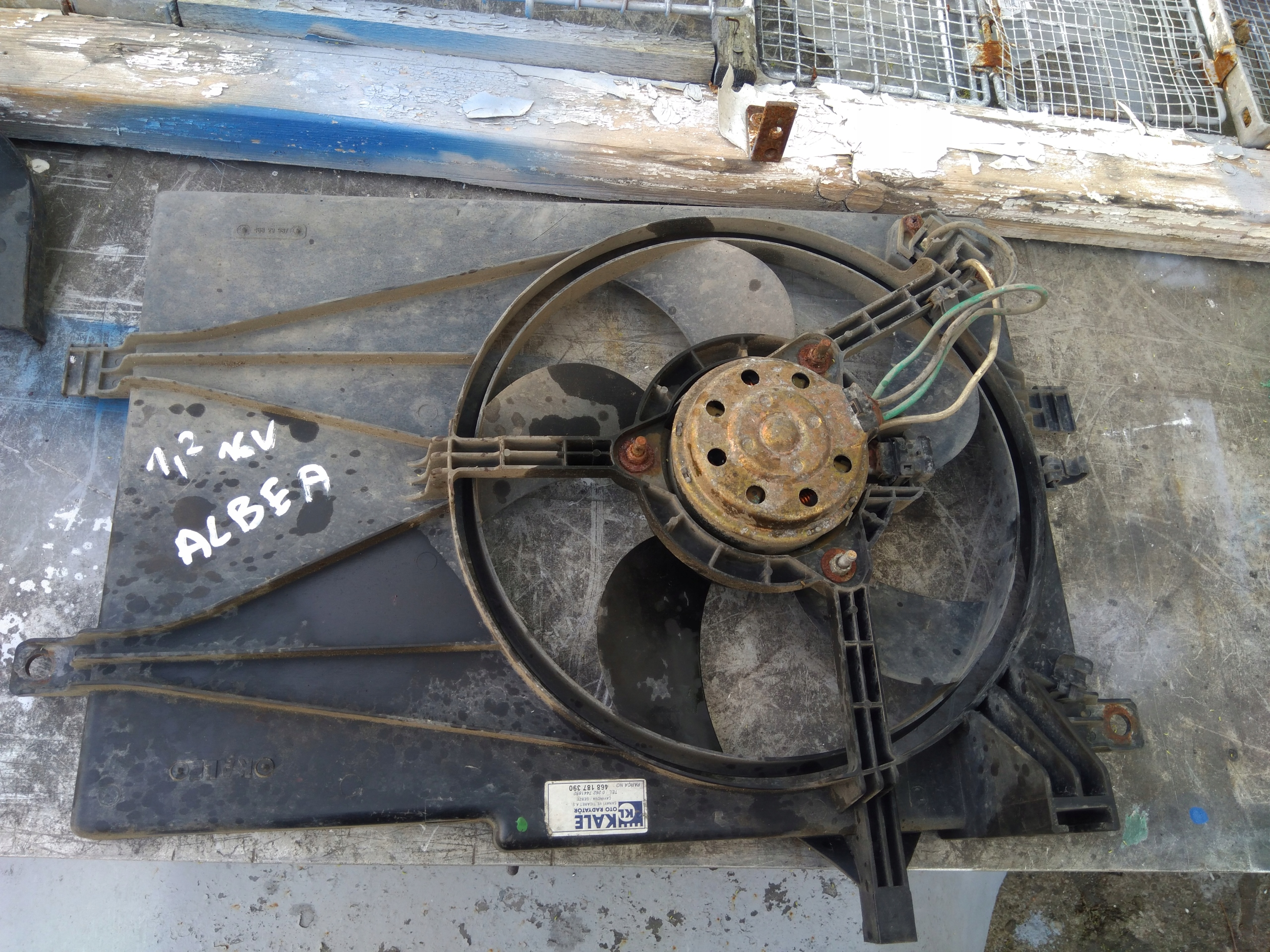 Вентилятор радиатора Fiat Albea 1.2 16