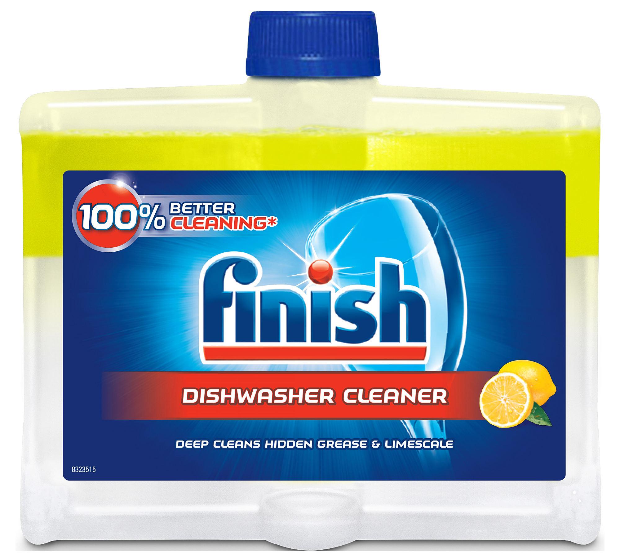 Finish Cleaner Liquid Cleaning Посудомоечные машины Lemon