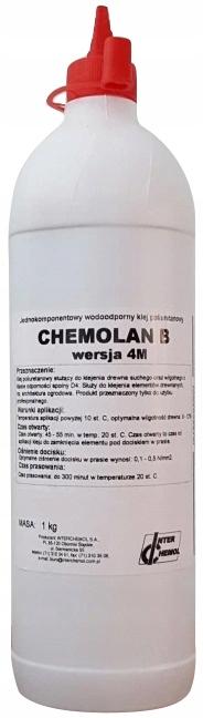 Klej do drewna poliuretanowy D4 Chemolan B 4M 1kg