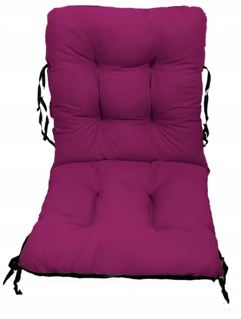Садовое кресло подушка шезлонг 48x48x48 пурпурный