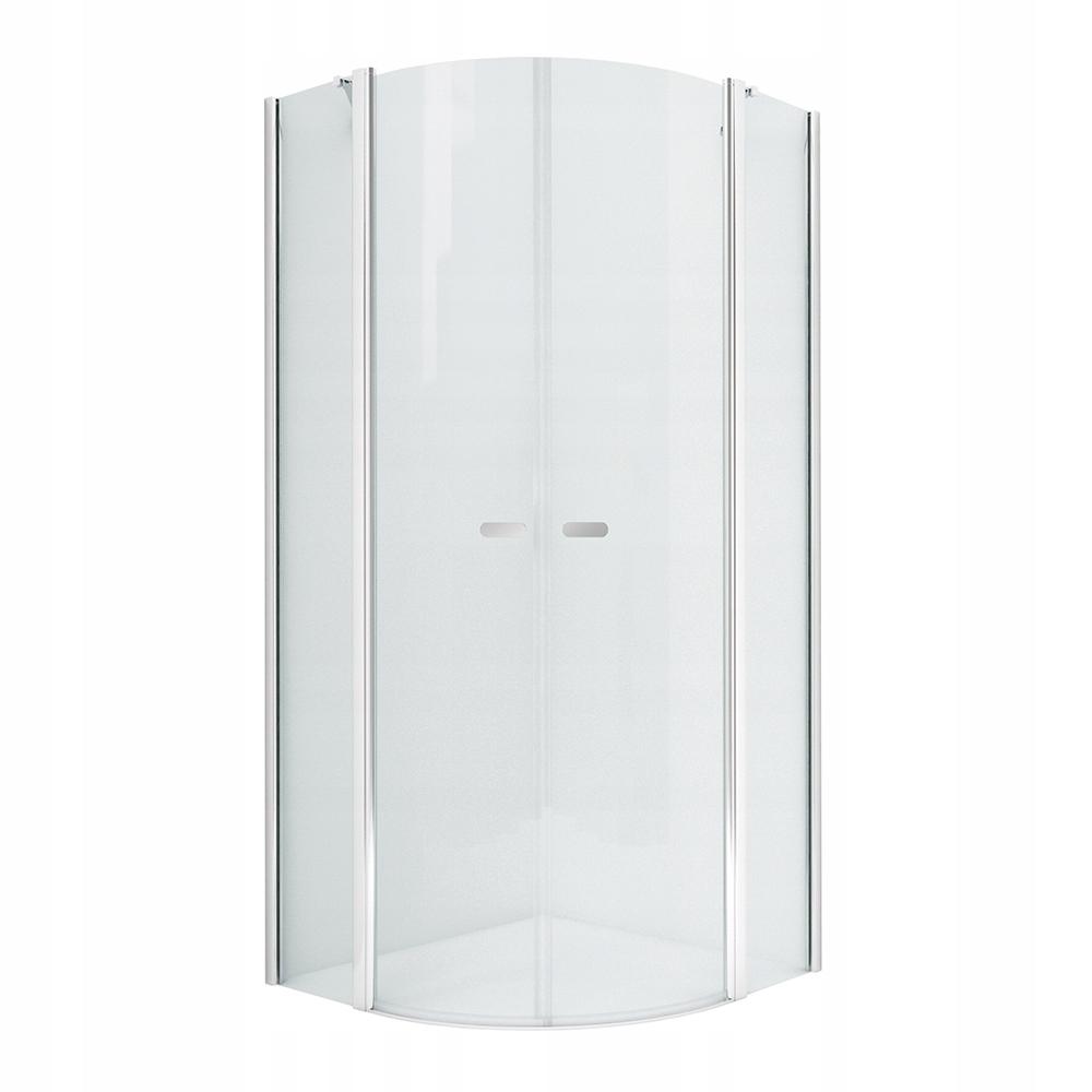 NOVINKA polkruhová sprchovacia kabína SOLEO 80x80 x195 cm