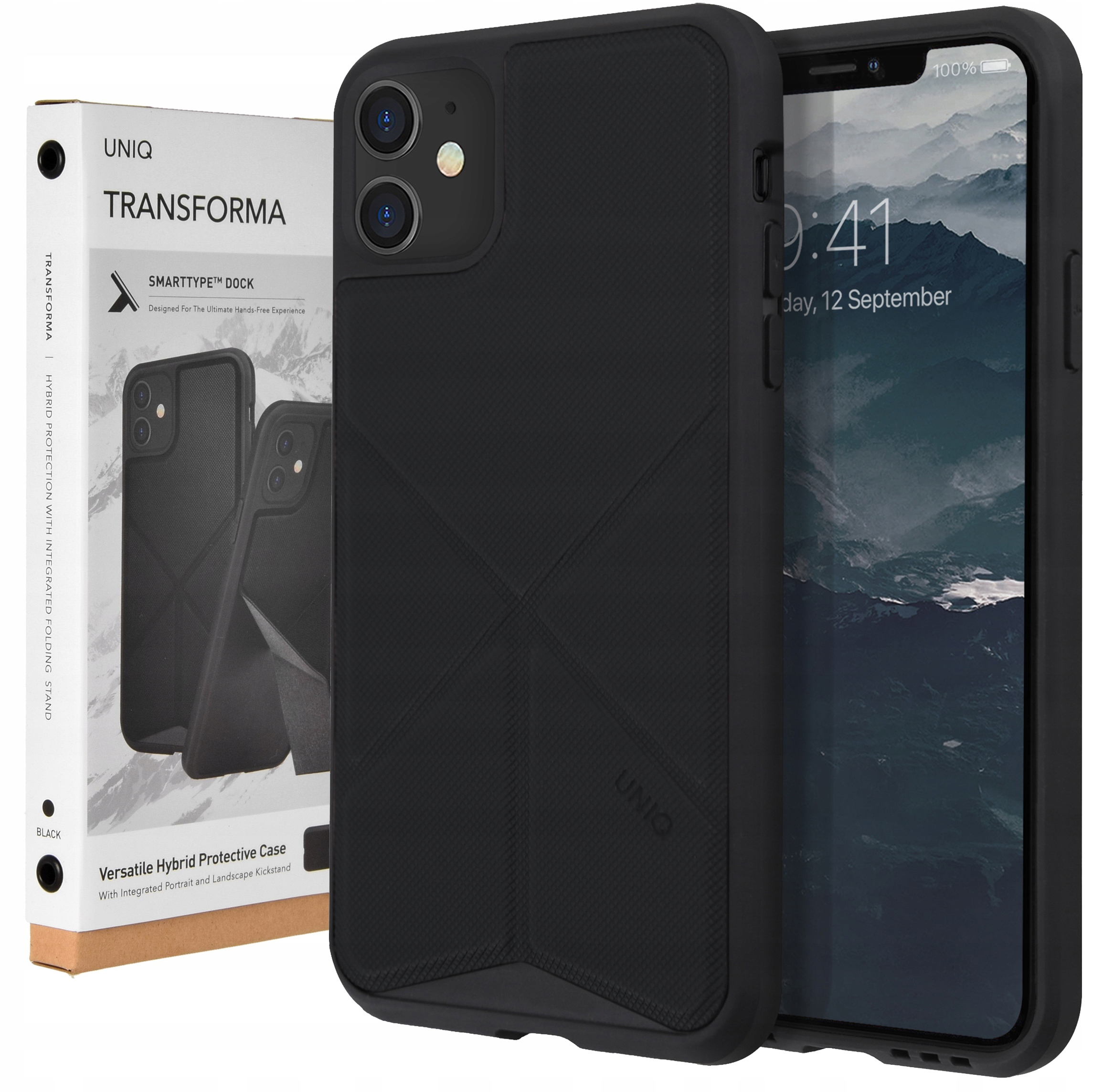 Etui Uniq do iPhone 11, obudowa, cover, Transforma