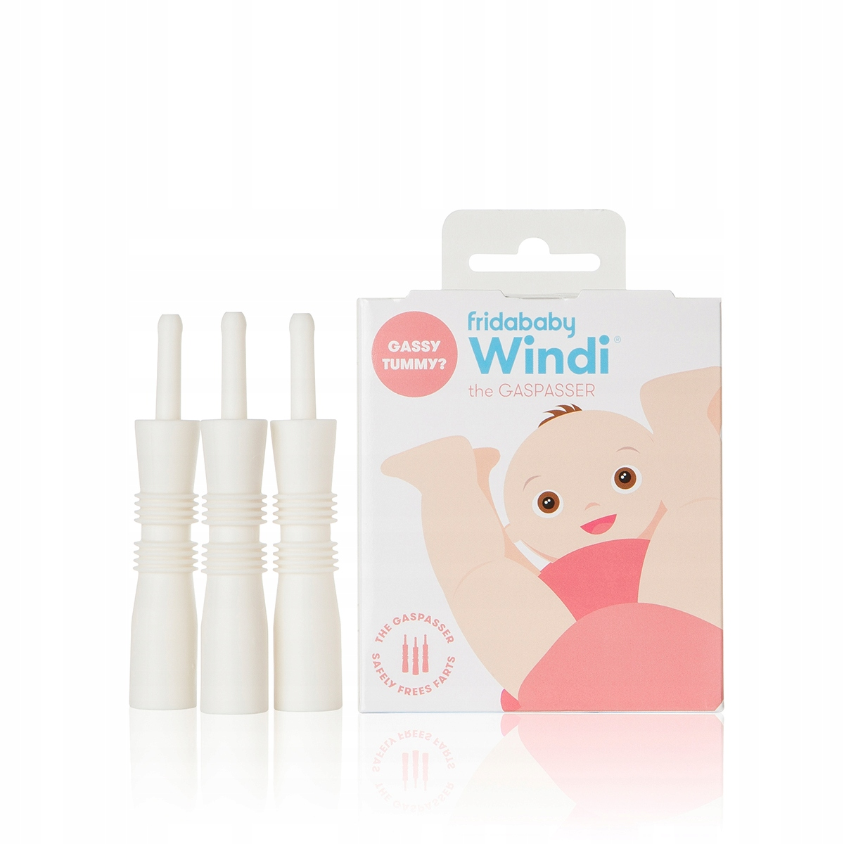 Item KATETER REKTALNY ON THE WINDI COLIC AND GASES 10 PIECES