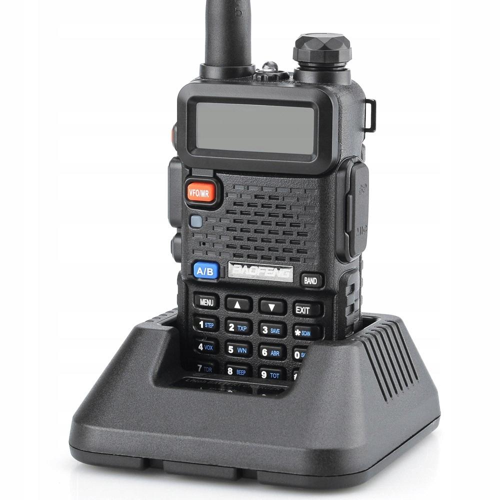 Item Baofeng UV-5R HT 5W PMR Radio NEW VERSION
