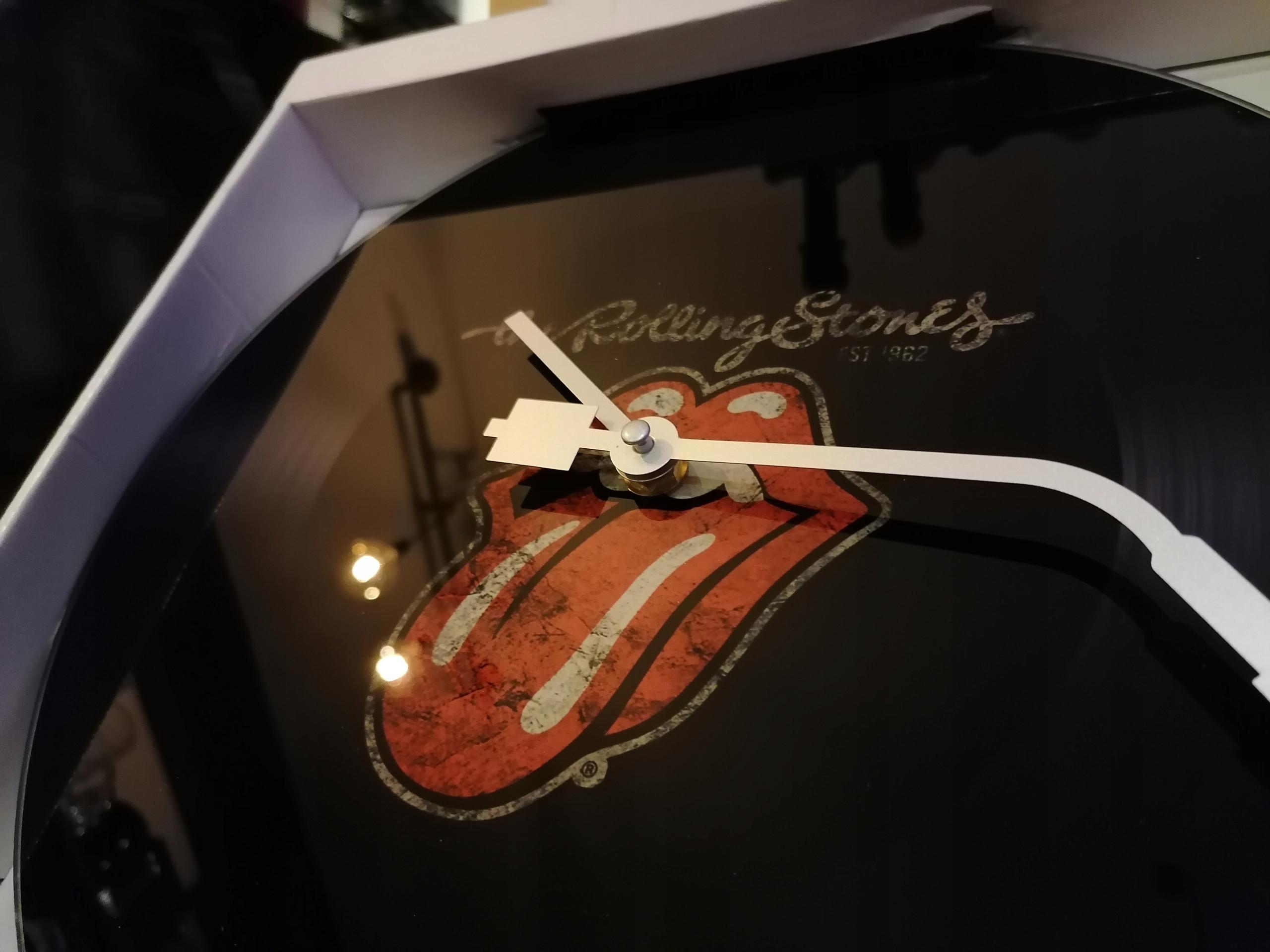 NÁSTENNÉ HODINY biker retro Rolling Stones nové