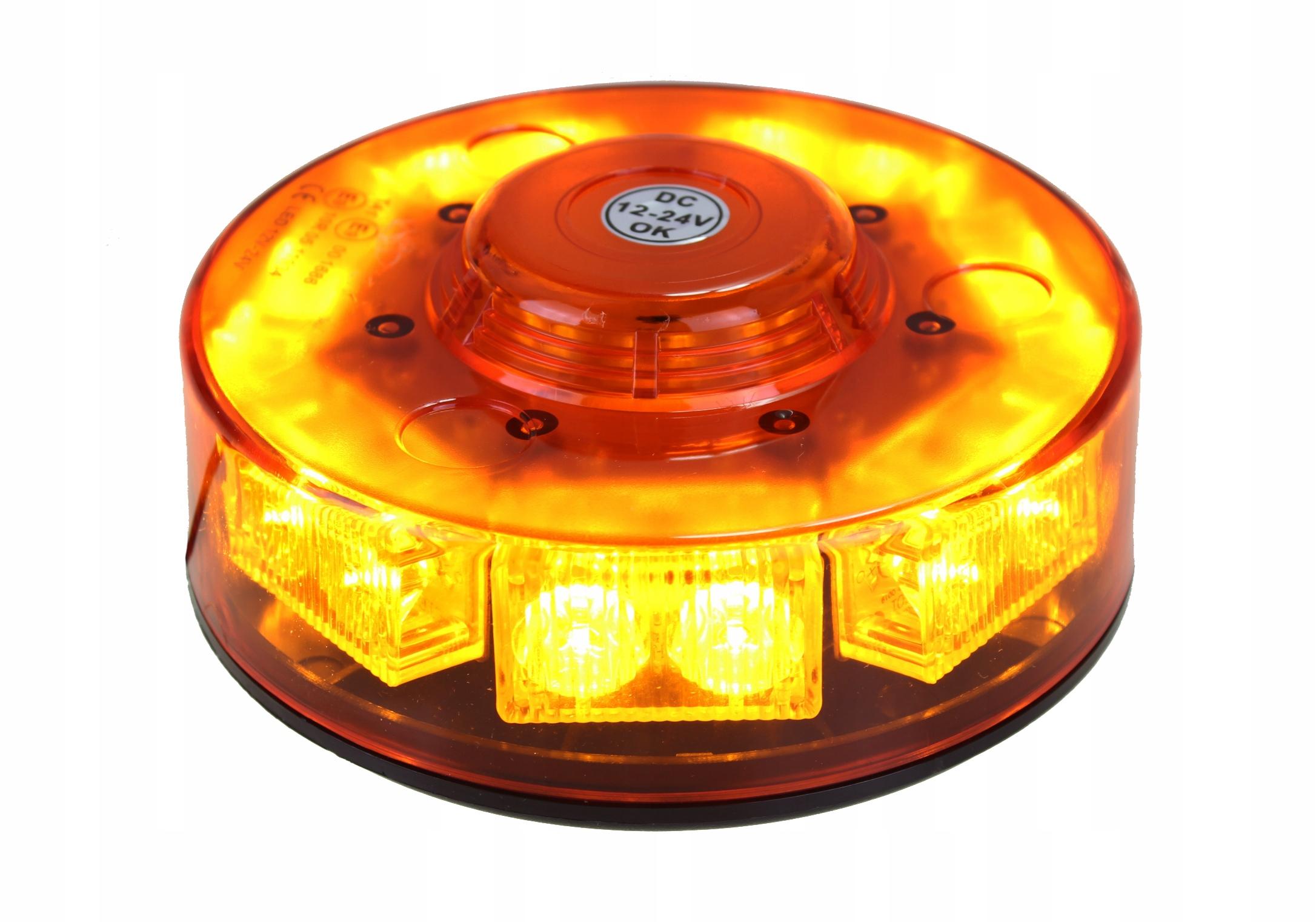 лампа предупреждения петух нло led стробоскопа на магнит