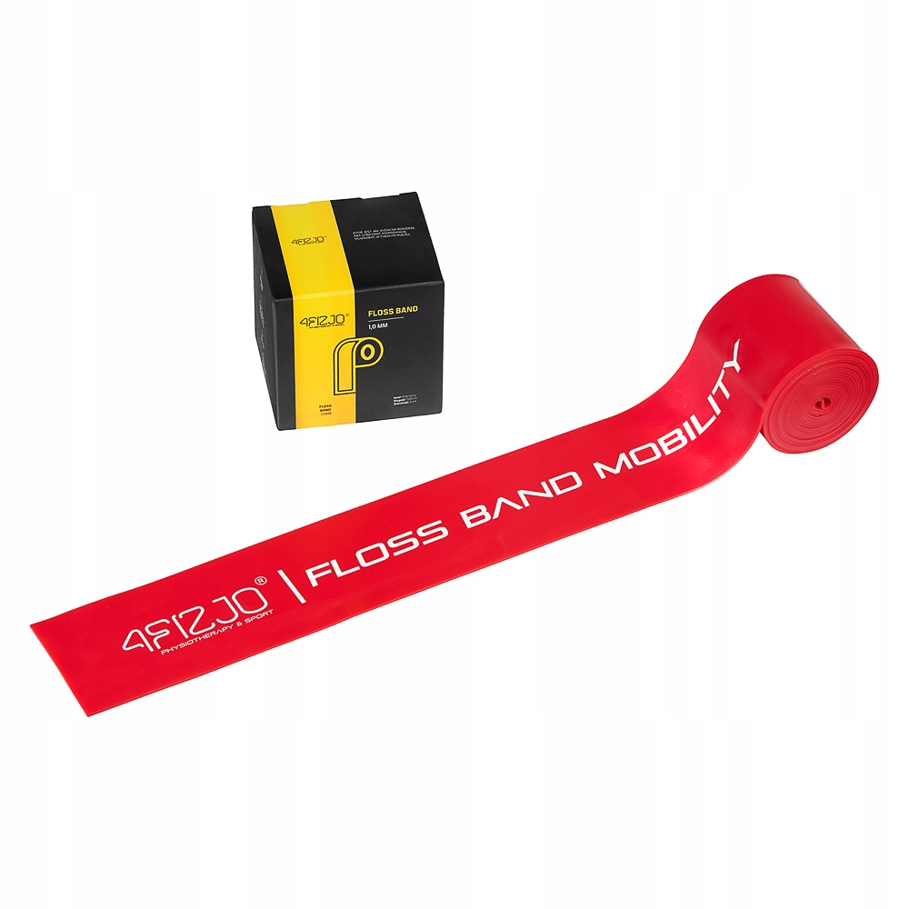Gumet FlossBand a Floss Band Band Red 1.0mm