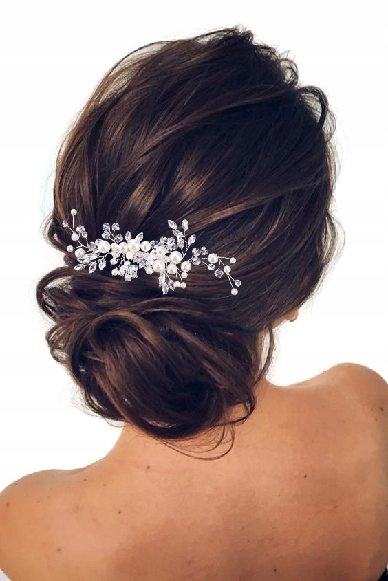 Item STELLA wedding jewelry for the hair comb CRYSTALS