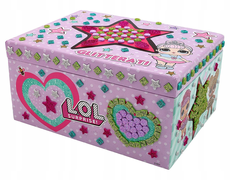L.O.L. Surprise Krabička na konfety šperkov LOL