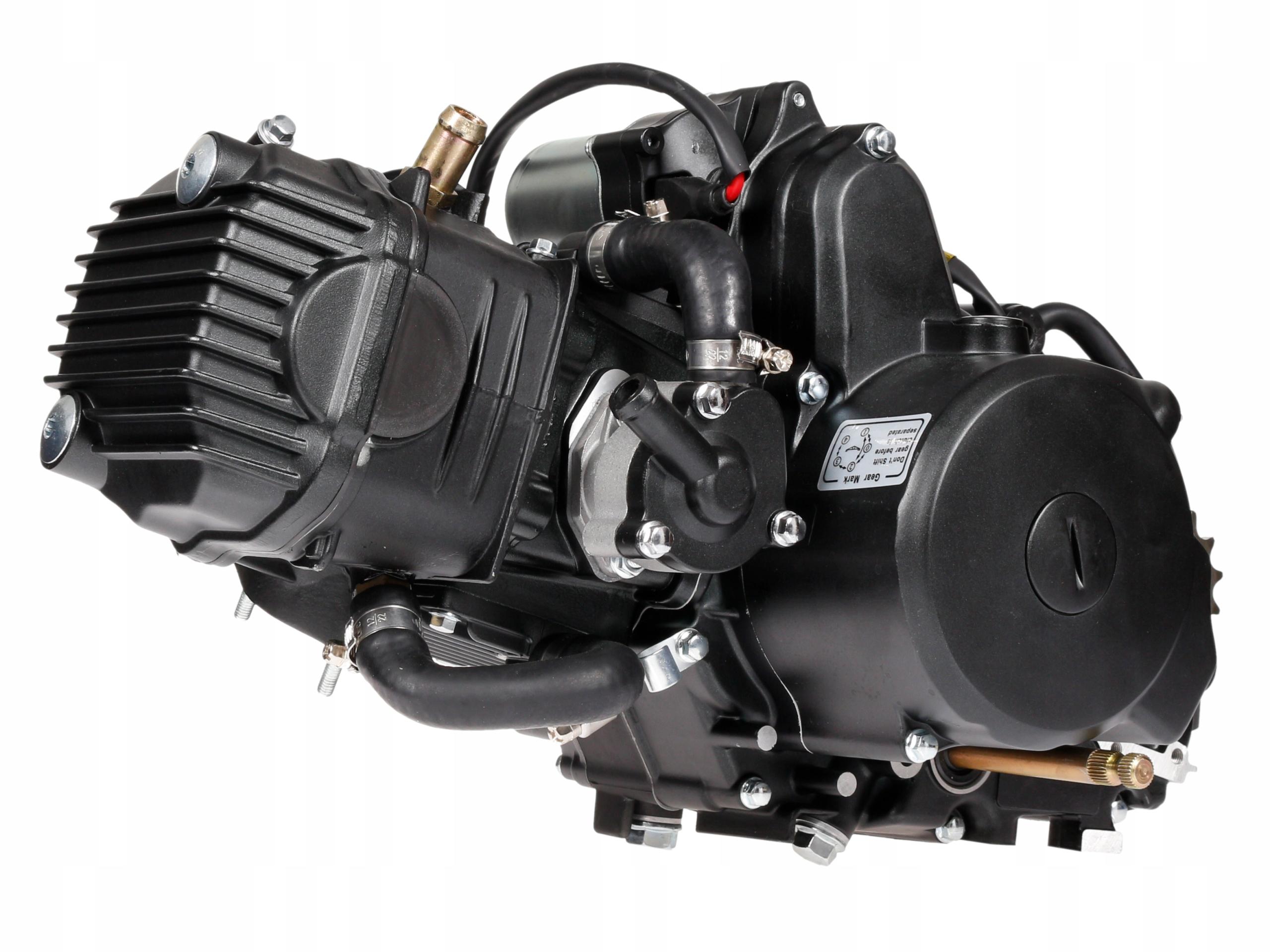 Двигатель 130см Moretti 4T ЖИДКОСТЬ Юноша Romet Barton