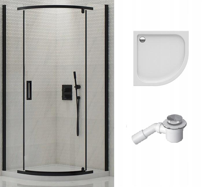 POĽSKO sprchovací kút 90x90 cm, PAN 16 cm