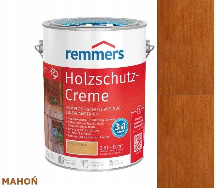 HOLZSCHUTZ-CREME REMMERS 5 l mahagón