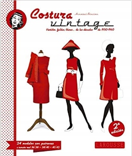 Costura Vintage Larousse - Libros Ilustrados M506