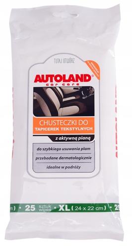 AUTOLAND - Салфетки для tap. текстильной - 25 шт.