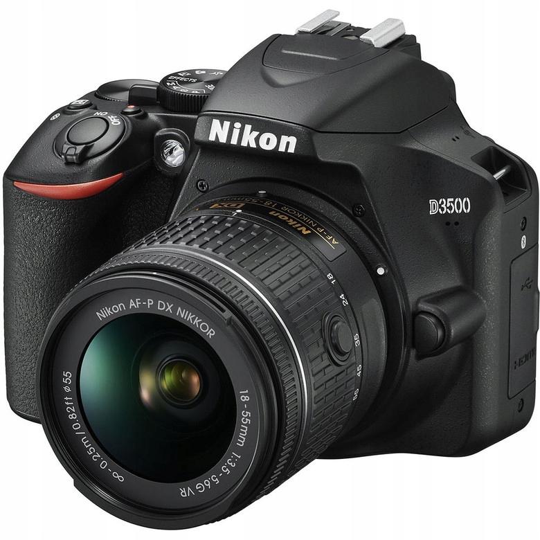 NIKON D3500 i AF P DX 18 55 mm f 3 5 5 6 G VR