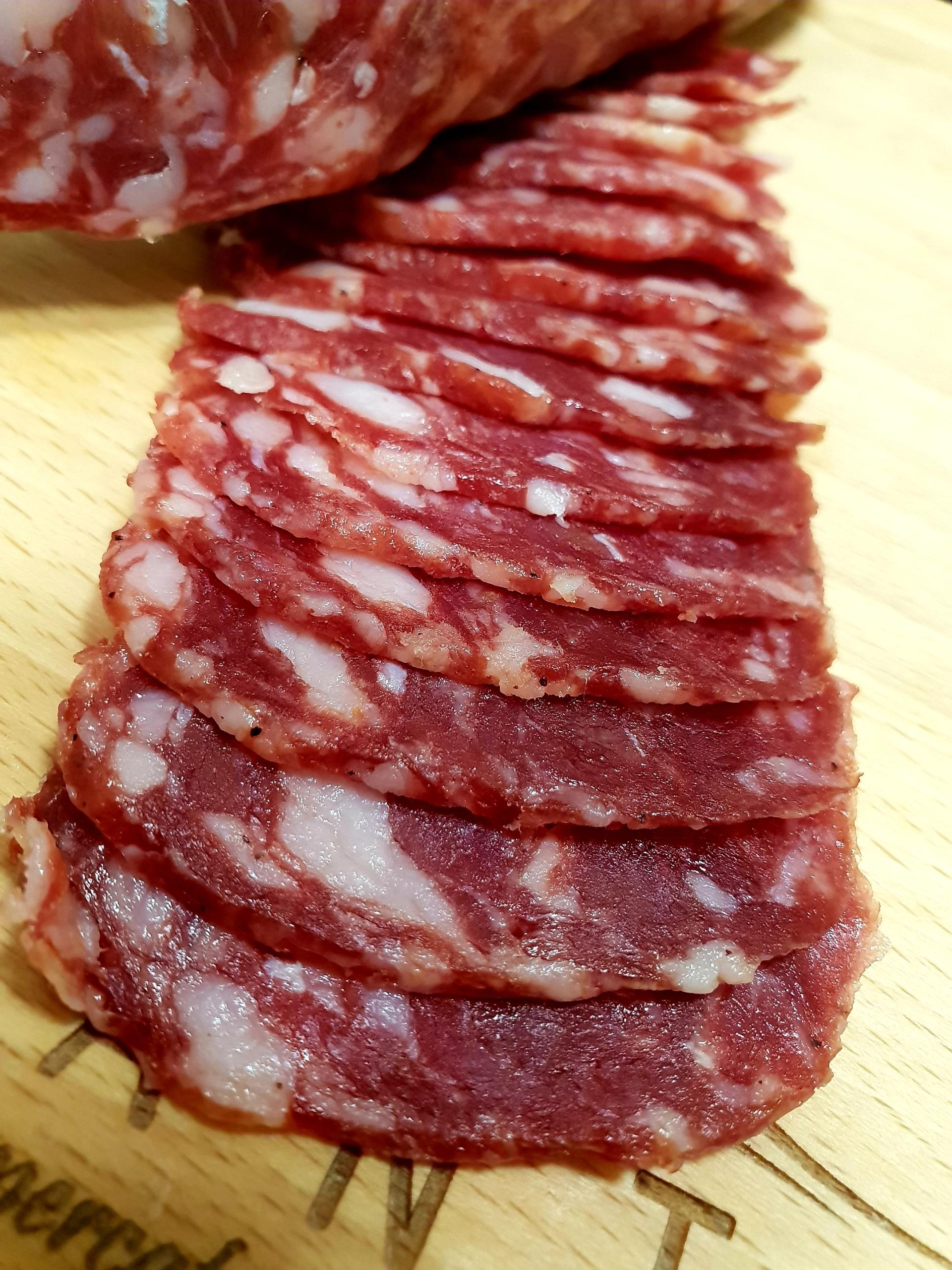 Салями из диких сицилийских свиней 100гр Сицилия