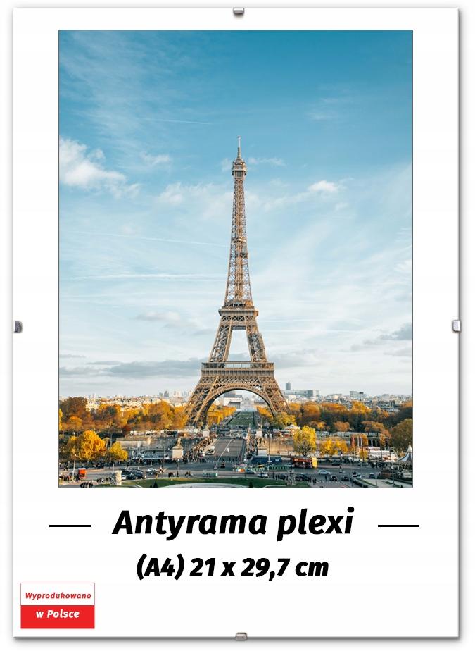 ANTYRAMA A4 21x29 7 29 7x21 RAMKA ZDJĘCIE DYPLOM